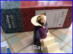 V Rare Disney Tradition Evil Queen/snow White drama-plaque 6.5 Boxed