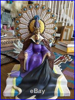 WDCC Enthroned Evil Evil Queen from Disney's Snow White in Box with COA #1513