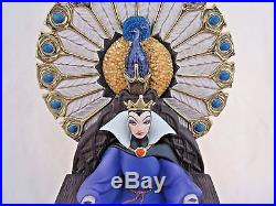 WDCC Enthroned Evil Queen from Disney's Snow White in Box, COA Dealer Display