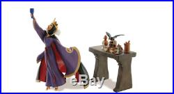 WDCC Snow White Evil Queen And Raven Now Begins Thy Magic Spell