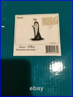 WDCC Snow White Evil Queen Bring back her heart New WithCOA