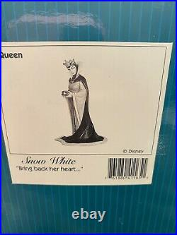 WDCC Snow White Figurine of Evil Queen Bring Back Her Heart New