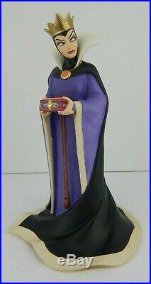 WDCC Snow White & The Seven Dwarfs Evil Queen Bring Back Her Heart Box & COA 236