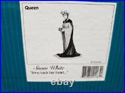Walt Disney Classics Evil Queen Snow White, Bring Back Her Heart Figurine 1997