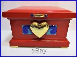 Walt Disney RARE Snow White Evil Queen Large Size Bring Me Her Heart Box